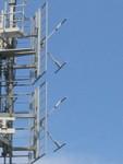 Double panneau d'antenne VHF (FM).